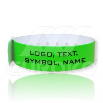 VINYL L-Shaped Wristbands (19mm)