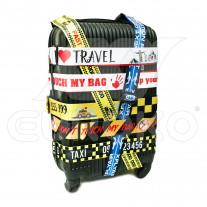 Vzorovaný pás na kufr